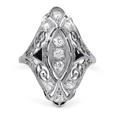 18K White Gold The Sonia Ring from Brilliant Earth