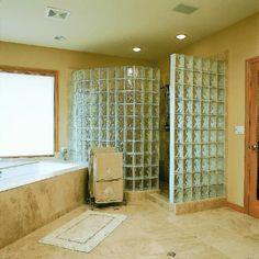 interessante glasbausteine f r dusche zuk nftige. Black Bedroom Furniture Sets. Home Design Ideas