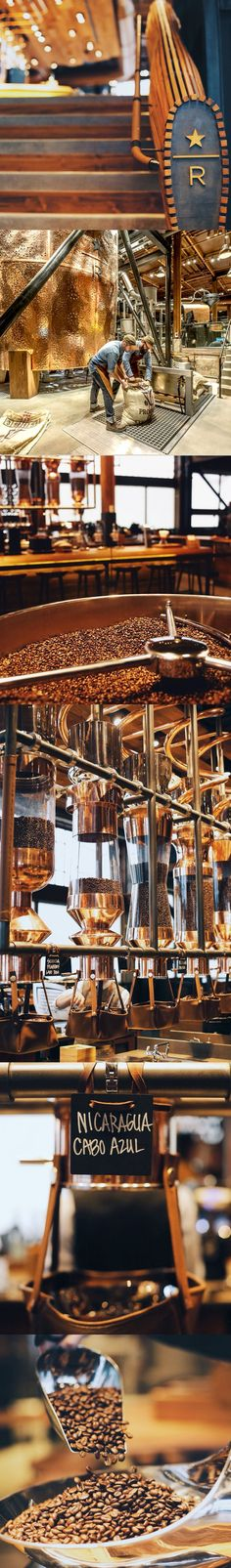 The Starbucks Reserve Roastery and Tasting Room in Seattle's Capitol Hill is dedicated to the craft of roasting, the art of brewing, and exploration of taste. It represents everything we love about coffee-under one roof.