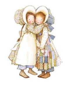 Sweetest childhood memories. Thank you, Holly Hobbie!
