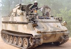 Based on the ubiquitous M113 Armored Personnel Carrier foundation was the special mission M901 Improved TOW Vehicle.