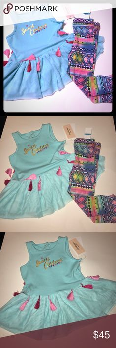 *Host PICK* Juicy Couture Set New with tags, size 24 months Juicy Couture Matching Sets