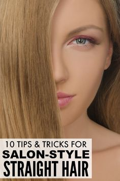 If you prefer to sport sleek, straight hair, but can't figure out how to get your locks from frizzing on humid, rainy days, you will LOVE these tips and tricks to teach you how to get straight hair that actually lasts!