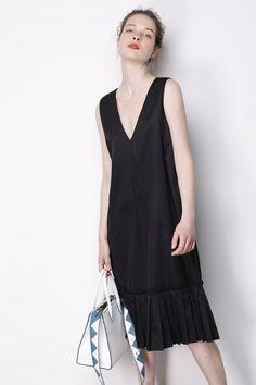 High Line Dress In Black CRDR0004