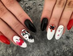 Snow White Nails, Passion, Beauty, Beauty Illustration