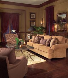 Elegant And Sophisticated Style Featuring The Huntington House #Furniture  2071 20 Sofa