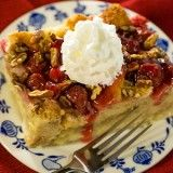 Cherry Pecan Bread Pudding recipe 3