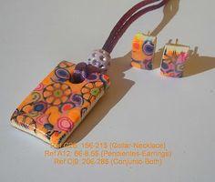 Handmade por Eva Perendreu, bisutería - jewellery: Millifiore