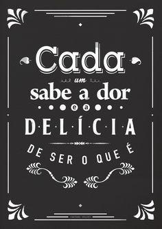 Pôster 'Cada Um' :: Na Cada da Joana :: www.nacasadajoana.com.br  #poster #decoração #caetanoveloso