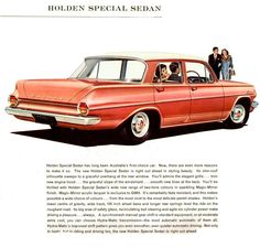 Holden EJ Special Brochure