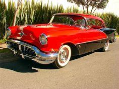 1956 Oldsmobile 88 Holiday Coupe Maintenance/restoration of old/vintage… Oldsmobile 88, Gm Car, Unique Cars, Old Cars, Car Pictures, Vintage Cars, Vintage Ideas, Motor Car, Custom Cars