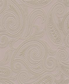 culoare #716719 collection: b.b home passion 2016 Opulent, delicate, lively and elegant – this non-woven wallpaper makes a shimmering statement and works with a whole range of decorative styles. The combination of light taupe and gleaming silver in this design gives rooms a stately look, without overdoing it. pattern 716719 highly wash-resistant non-woven wallcovering Light fastness: good Width: 53 cm Converting: Adhesive on subsurface Length: 1005 cm Removing: completely peelable…
