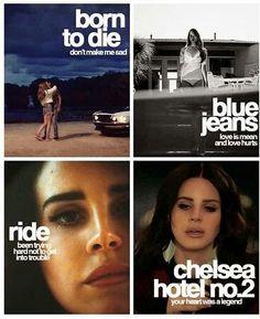 Lana Del Rey #LDR #lyrics #videos
