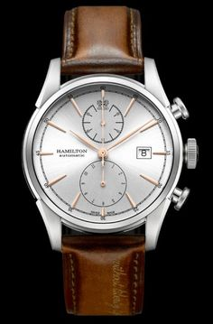 """""""Without Liberty, Life is Misery""""  Hamilton Spirit of Freedom Automatic Chronograph 42mm"""