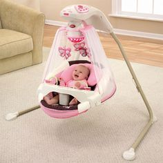 Fisher Price swing compatibility - Fisher-Price® Safari Dreams Cradle 'n Swing - Power Plus™ Swing. - Glide 'n Swing. - Fisher-Price® Power Plus™ SpaceSaver Cradle 'n Swing. Baby Cradle Swing, Crib Swing, Baby Swings, Newborn Swing, Fisher Price, My Baby Girl, Baby Love, Butterfly Baby, Baby Shower