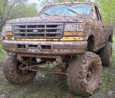 This is what my future truck is gonna look like after muddin!!!