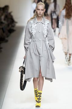 View the complete Fendi Spring 2017 collection from Milan Fashion Week.