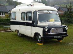 Classic Bedford Dormobile