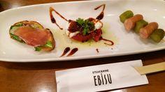 第1のお皿っ  #下関 #EBISU #ステーキ #steak