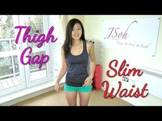 ▶ Inner Thigh Gap & Slim Waist Workout (Do This!) - YouTube
