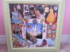 Disney Pin Trading for Beginners, love the idea of framing with pics from the parks!