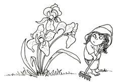 IRISES - Watch the irises.) I'm pretty sure Theyz watchin' you. Irises, Book Authors, Childrens Books, Poems, Watch, Drawings, Illustration, Pretty, Art