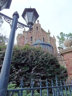 The Haunted Mansion at Walt Disney World.