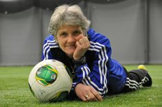Pia Sundhage was the head coach of the Swedish women's national team, and then the head coach of the U.S. Women's team from 2008 to 2012. She led the team to two Olympic gold medals and a second-place finish in a close one against Japan the 2011 World Cup. She was named the 2012 FIFA World Coach of the Year for her efforts. Before becoming a coach, she was a player for her home country, Sweden. In January 2010 she outed herself during an interview with a Swedish television show.