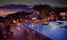 Palm Hotel & Spa - Anlage bei Nacht