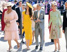 """VICTORIA BECKHAM was on hand to celebrate the royal wedding as Prince Harry and Meghan Markle became husband and wife on Saturday, but some claimed she looked """"miserable"""". The wife of David Beckham has now broken her silence on the nuptials. Prince Harry Instagram, Meghan Markle Pics, Summer Wedding Guests, Royal Weddings, Prince Harry And Meghan, Lady Diana, Navy Dress, Victoria Beckham, Galleries"""