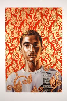 Kehinde Wiley, Flame Gyasar @artsy