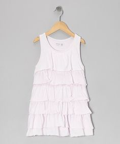 Take a look at this Pastel Rose Ruffle Dress - Toddler & Girls by Wheat on @zulily today!