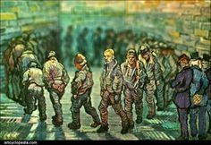 tilt-shift-van-gogh-prisoners-exercising-detail