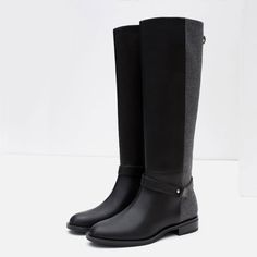 Image 7 of COMBINED BOOTS from Zara