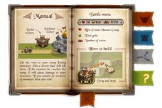 """""""Chaotica"""" android game: monsters, icons, manual on Behance"""