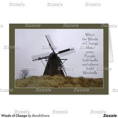 Winds of Change Greeting Card