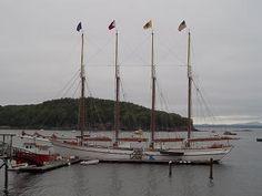 Picture of the Schooner Margaret Todd, Bar Harbor, Maine
