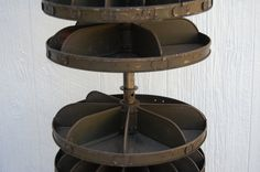 Lazy Susan Parts Amusing Homemade Orange Rotabin Spinning Hardware Stand Unusual Rustic Inspiration