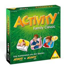 Der Spielspaß ist vorprogrammiert! Activity Family Classic jetzt bestellen bei Weltbild.de #activity #familie #kinder #spielen #spaß  #weltbild
