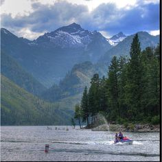 Lake Como, Darby, Montana... One of my most favorite places in the summer in my valley - the Bitterroot Valley of Montana
