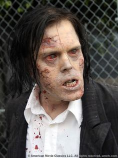 Walker from season 1. This one frightens me.  It looks like an actor, and I can't think of his name.