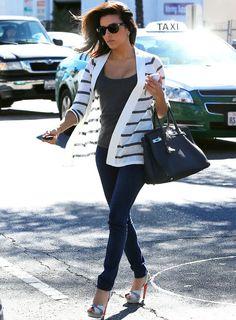 Eva Longoria, Love her casual style.