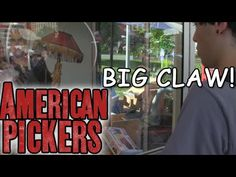 This is some footage I shot from the Pittsburgh Three Rivers Regatta on the Fourth of July. They had a BIG claw machine free to play, themed from American Pi. American Pickers, Claw Machine, Three Rivers, Claws, Pittsburgh, Big, Fictional Characters, Fantasy Characters