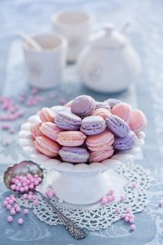 Laduree Purple and Pink