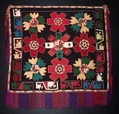 This is a fantastic Lakai embroidery from Uzbekistan, 19th century