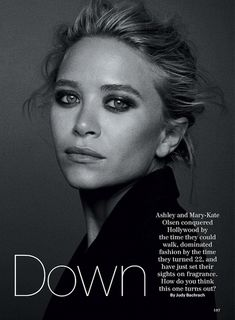 fashion editorials, shows, campaigns & more!: doubling down: mary-kate and ashley olsen by peter lindbergh for allure decem. Mary Kate Olsen, Mary Kate Ashley, Olsen Sister, Olsen Twins, Sarah Jessica Parker, Olivia Palermo, Marie Claire, Ashley Olsen Style, Fresh Makeup