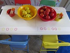 Apple patterns by Teach Preschool