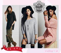 VIP.sale!関税,送料込み★FREE PEOPLE★On a Roll Sweater Tunic ゆったり目のプルオーバーニットが女の子らしくキュートな1着★1枚でワンピースとしても、ボトムを合わせてトップスとしても使えます♪