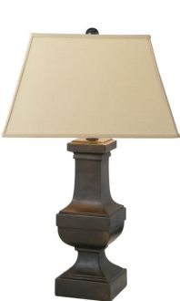 Square Balustrade Table Lamp - Visual Comfort.  26OH x 16OW x 5.75BW.  $399 retail / $319.20 net