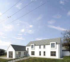 Monkstown | Louise Sliney Architects Monkstown | Louise Sliney Architects New build house in Monkstown, Cork. Zinc roof, cottage form, open plan living, harbour view. #newhouse #Irish #architecture
